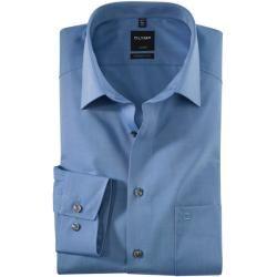 Photo of Olymp Luxor Shirt, moderne Passform, extra langer Arm, blau, 38 Olymp