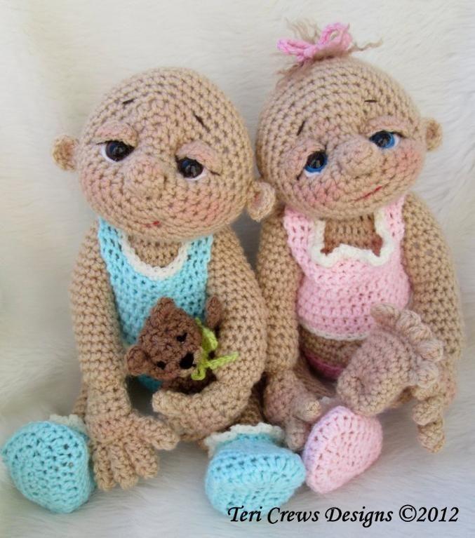 So Cute Baby Doll Crochet Pattern | Puppe, Puppen und Häkeln