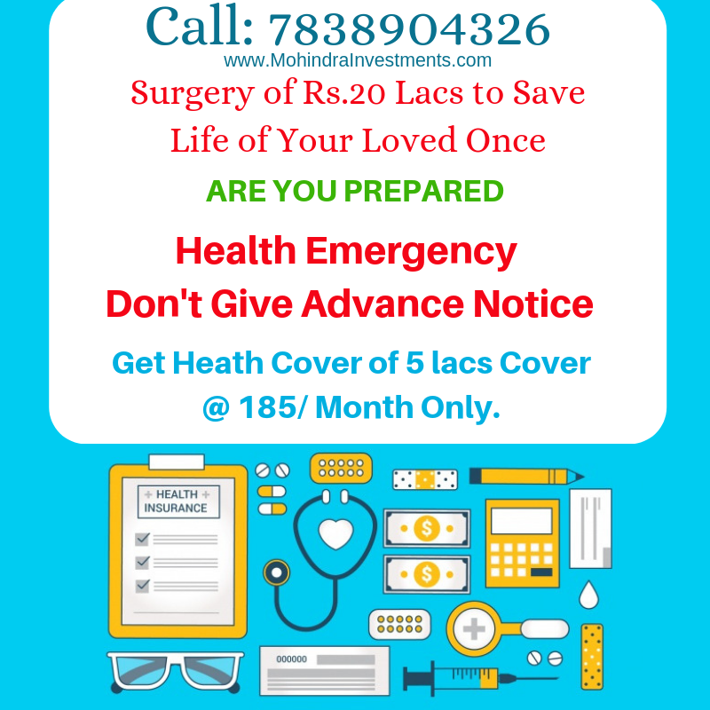 Health Emergency Don T Give Advance Notice Get Health Cover Of 5