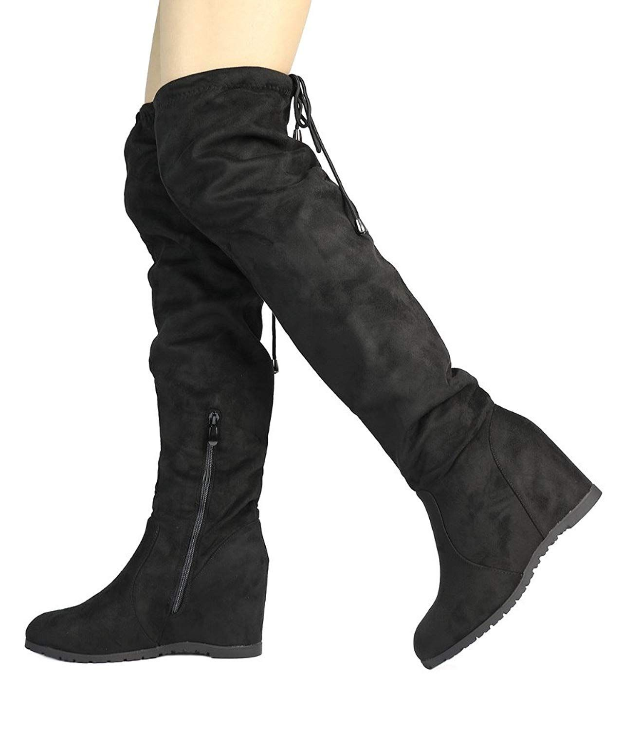 9f10570c8dd DREAM PAIRS Women s Over The Knee Thigh High Stretch Boots     You can find  out more details at the link of the image. (This is an affiliate link)