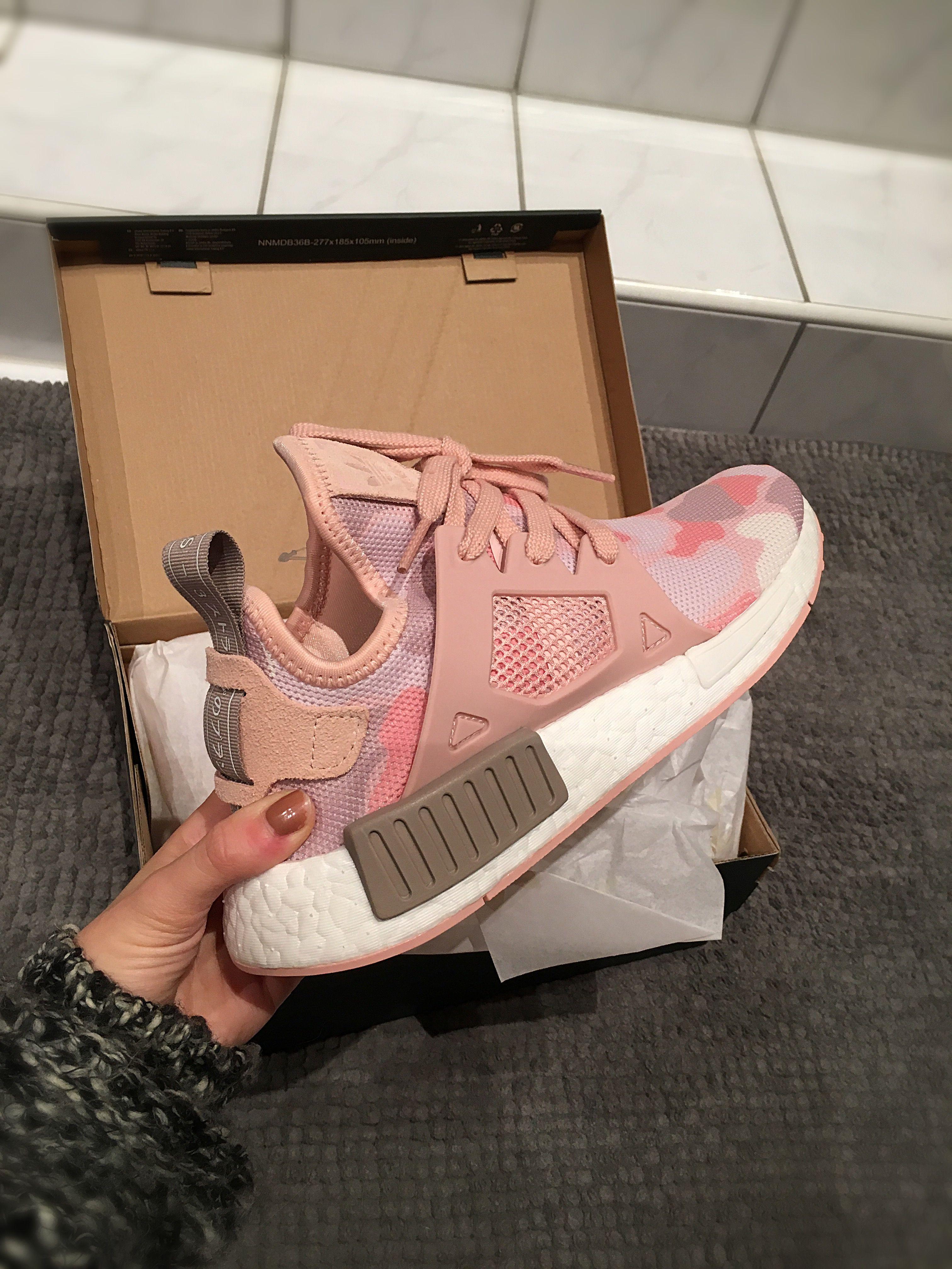 ADIDAS NMD XR1 W Pink Duck Camo White Womens XR_1 BA7753 Limited