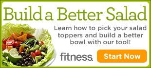 Build a healthy salad with the food items you love most
