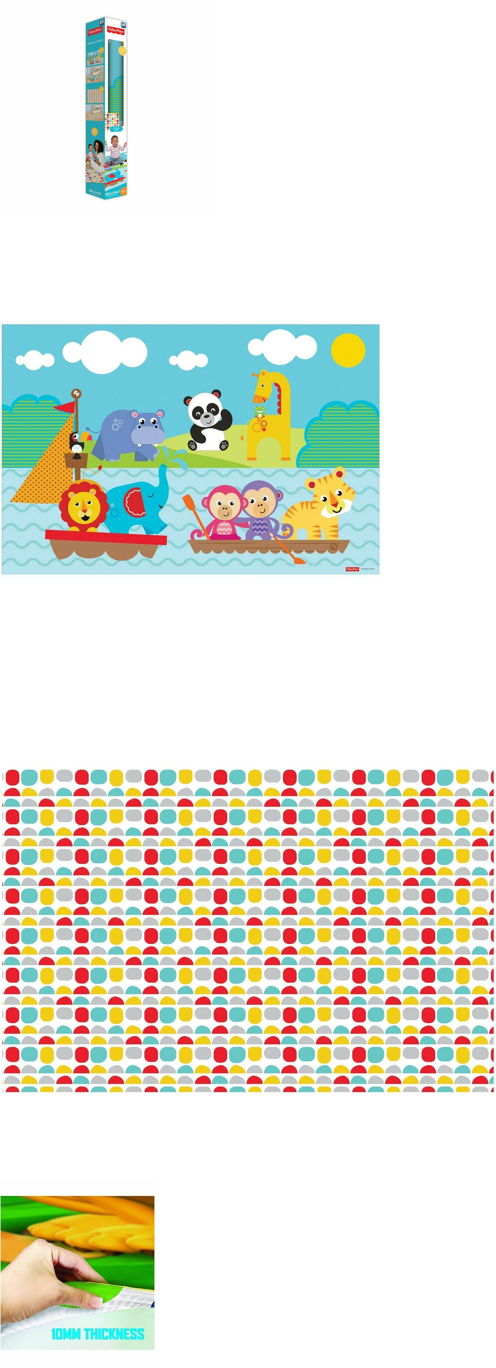 62d7893fc1 Mats and Rugs 37632: Tcg Toys Fisher Price 2 Sided Jumbo Gelli Mat Playmat  Memory