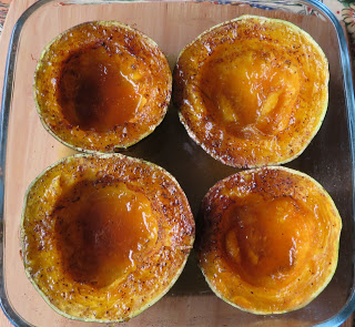 The English Kitchen Maple Butter Baked Squash Baked Squash