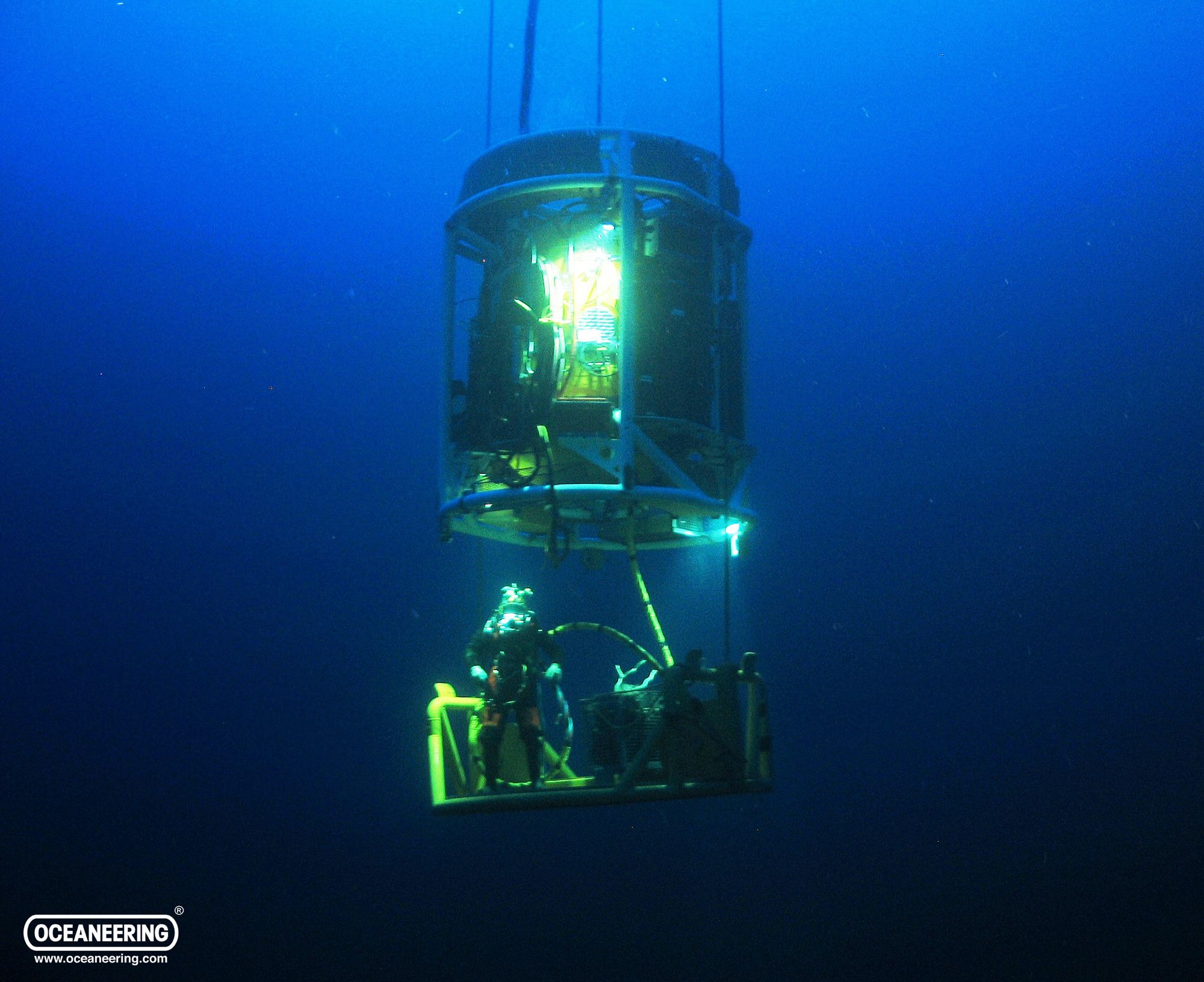 Diving bell similar to the ones i used diving scuba