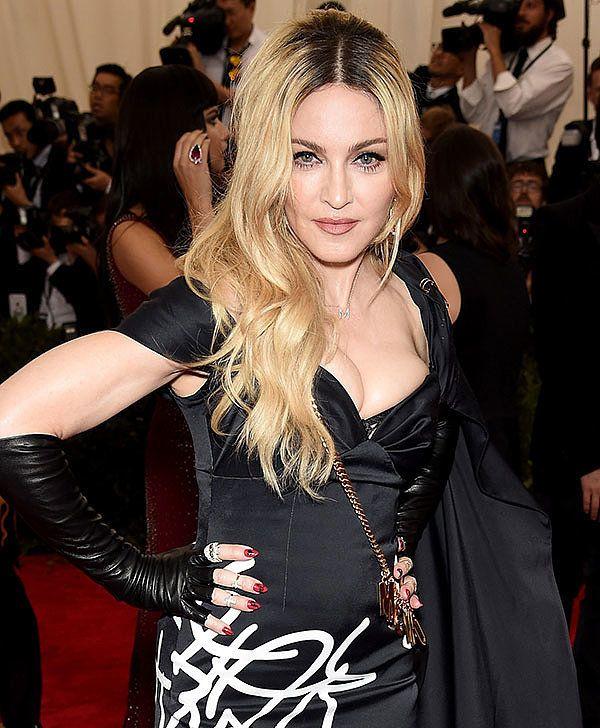 Madonna at the 2015 Met Gala.