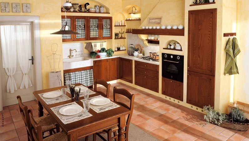 esempi di cucine in muratura fai da te con mosaici azzurre