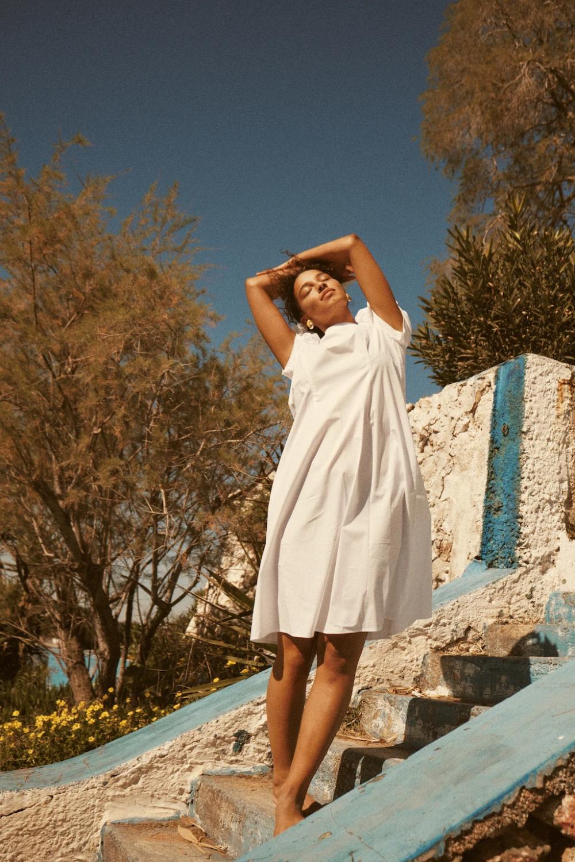 GRAMMAR Greece Lookbook – The Quotation Dress  Photographer Lily Cummings Model Arnelle