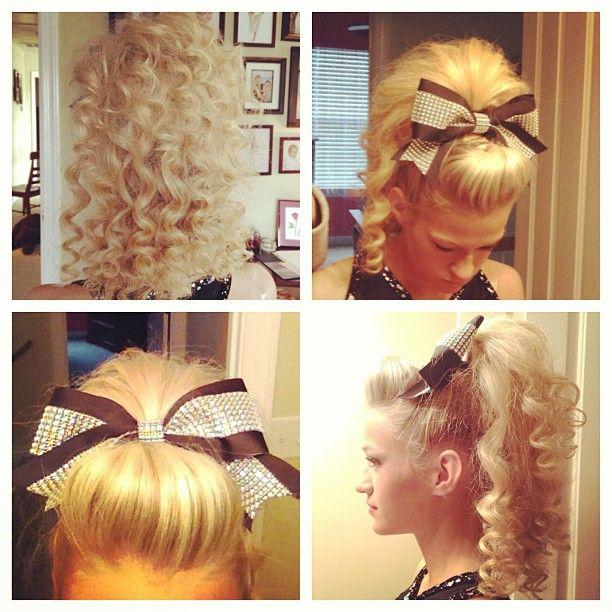 Cheer Curls Curly Hair Pinterest