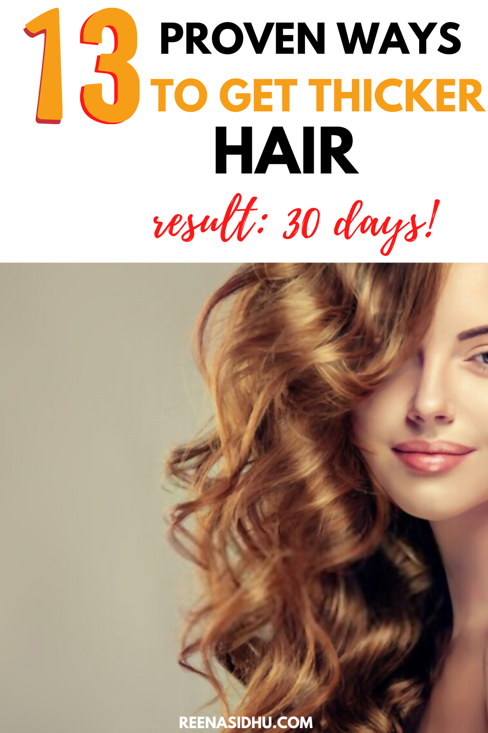 11 Proven Ways To Get Thicker Hair In 11 Days in 11  Tips for