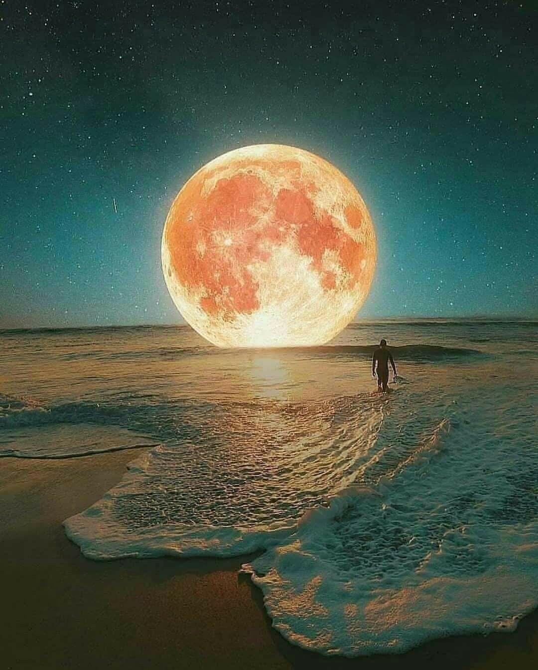 Pin De Margarita Zavala En Imagen Pintura De Luna Arte De Luna Luna De Amor
