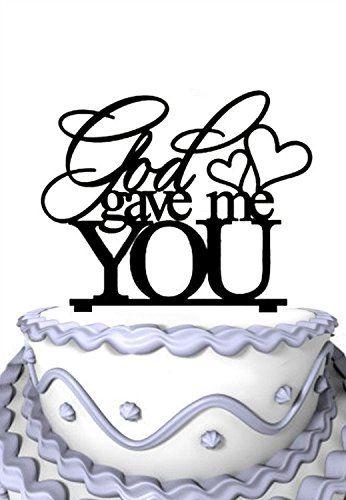 Meijiafei Cursive Mr and Mrs with Heart Custom Wedding Cake Topper