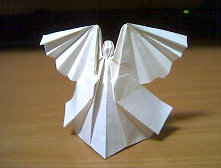 ハート 折り紙 折り紙 天使 折り方 : pinterest.se