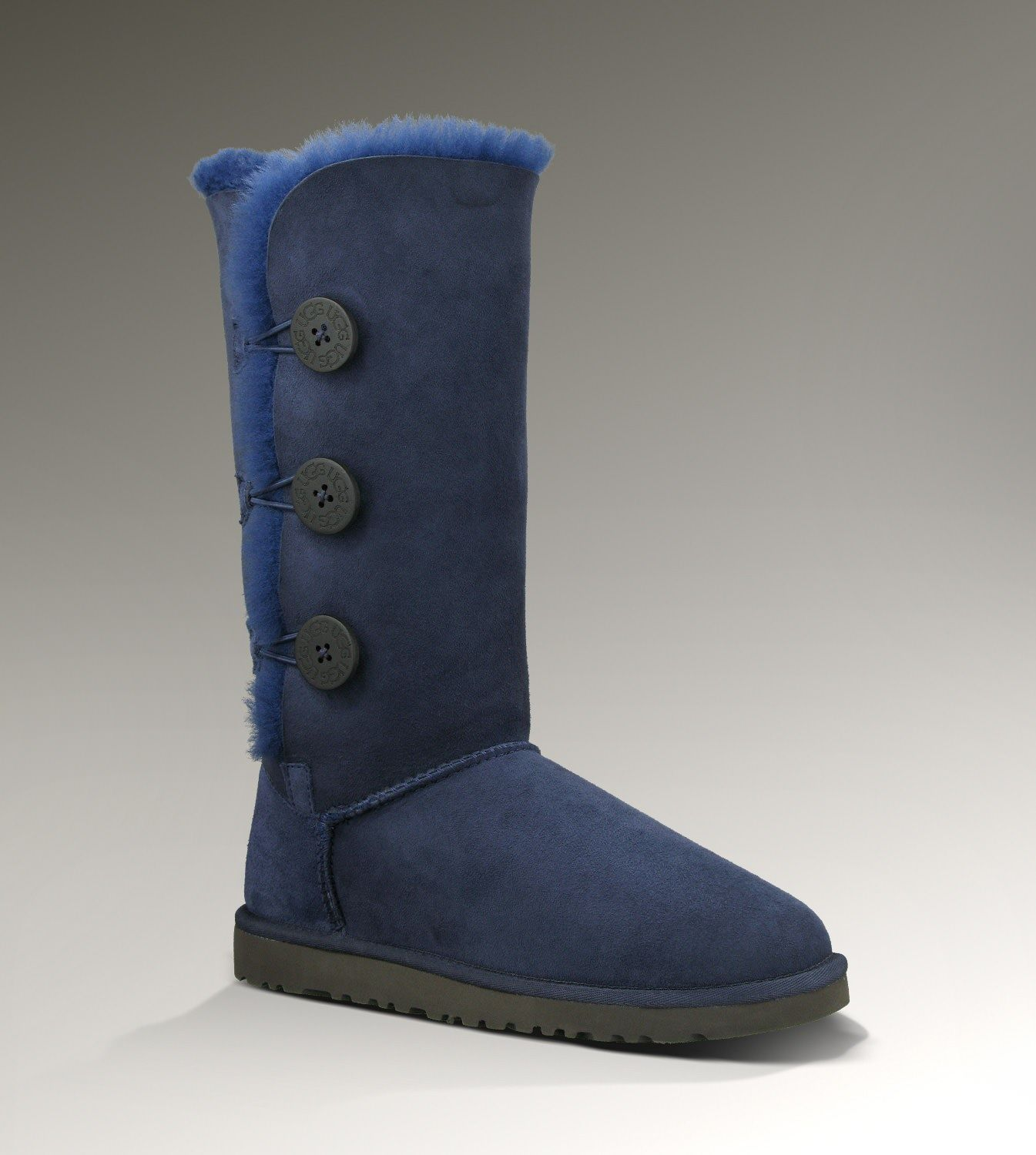 Ugg Womens Bailey Button Triplet NavyUGG Boots Cheap Sale!