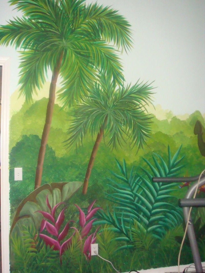 Wall painting stencils kids rooms jungle murals  kid wall art ideas  pinterest  wall murals walls