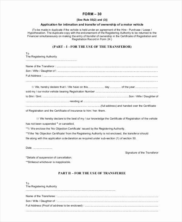 Letter Of Ownership Of Business New Notification Change Ownership