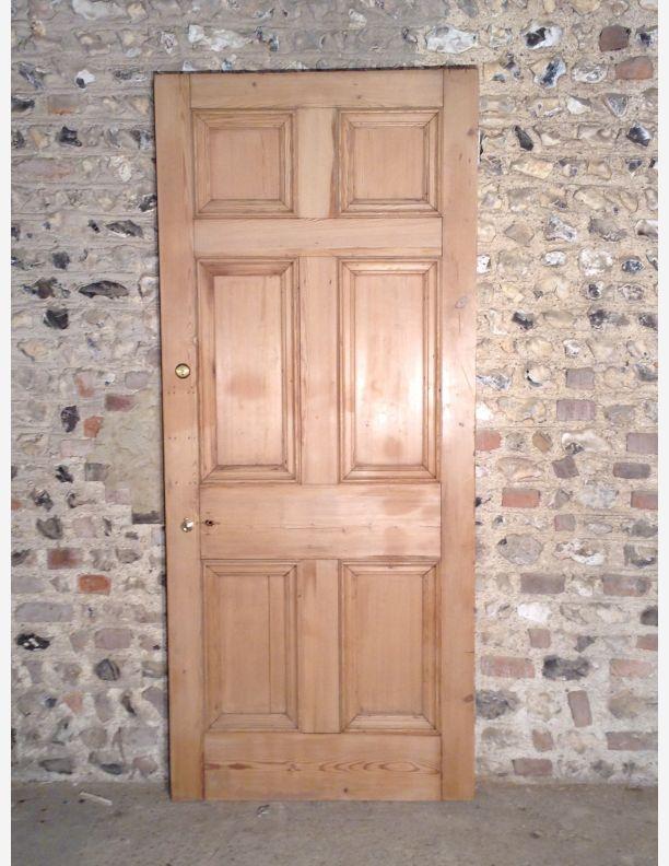 514 A 6 Panel Georgian Internal Door With Bolection Moulding