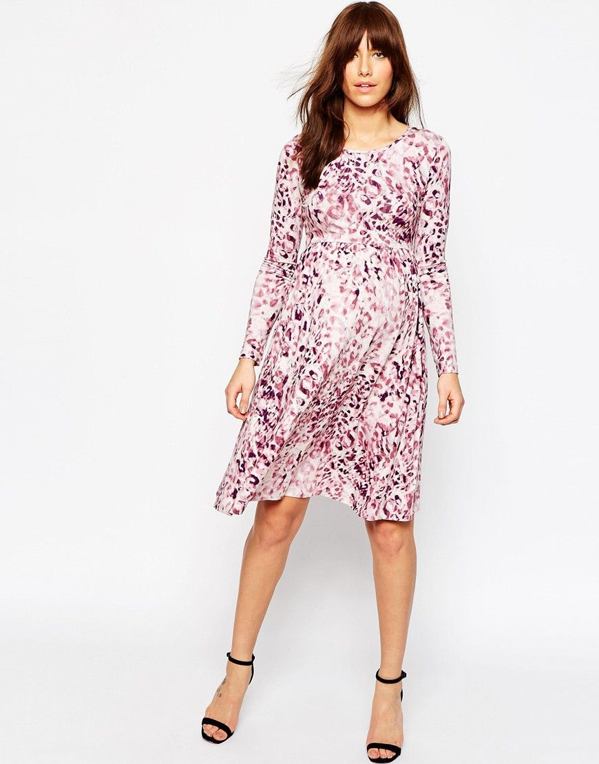 12++ Asos maternity leopard dress inspirations