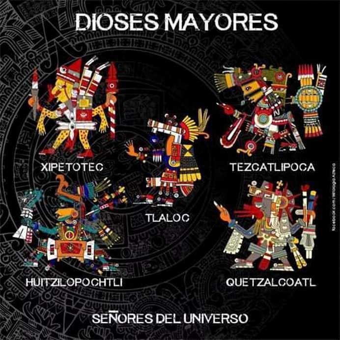 Dioses Aztecas Dioses De México Pinterest Mexican Art Mexico
