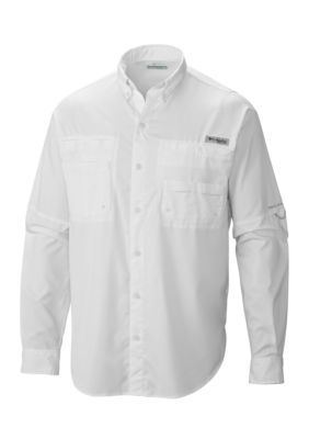 "New Mens Columbia PFG /""Tamiami II/"" Omni-Shade Wick Vented Fishing Shirt"