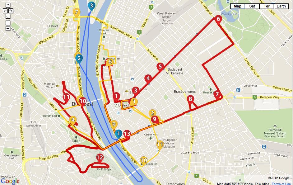 budapest hop on hop off bus map Budapest Hop On Hop Off Routes Seyahat budapest hop on hop off bus map