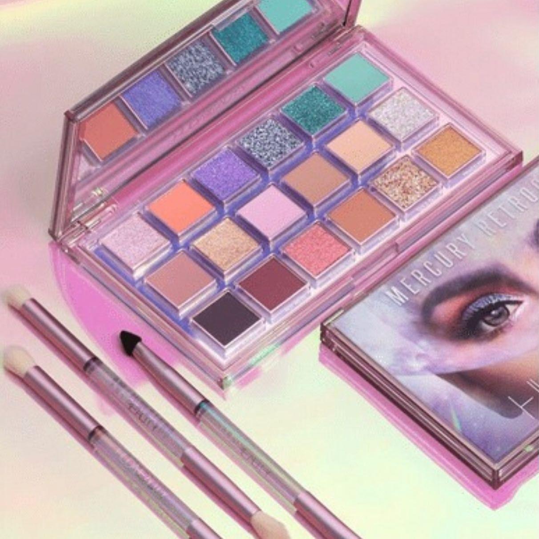 مجموعة ظلال العيون ميركوري ريتروقريد من هدى بيوتي للطلب حمل تطبيق آي لون مكياج جديد تخفيضات اصلي تسوق Beauty Perfume Eyeshadow Beauty