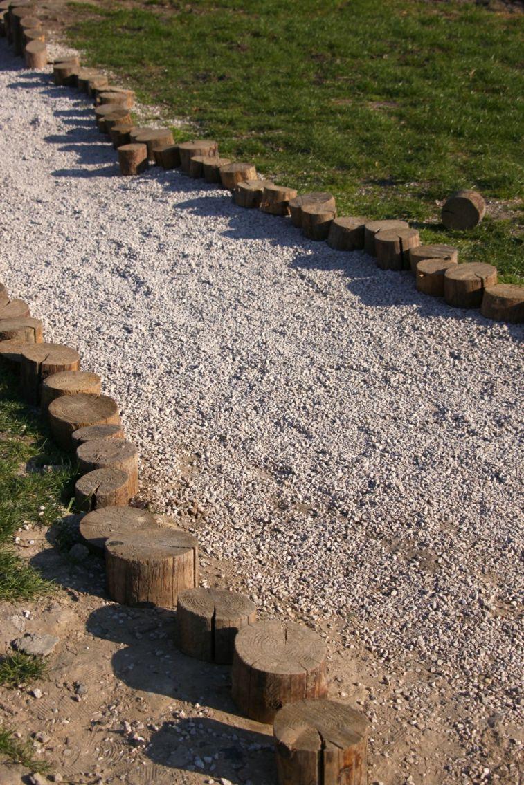 Como Hacer Un Camino De Piedras