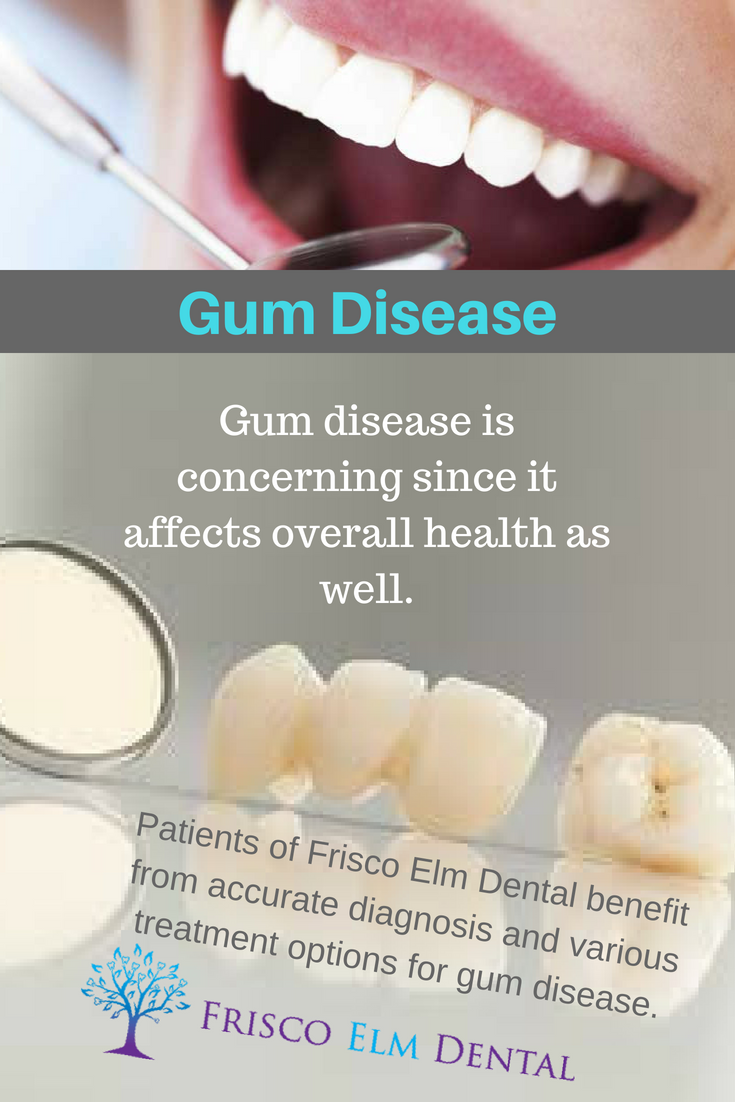 In the past, gum surgery was the most frequently used