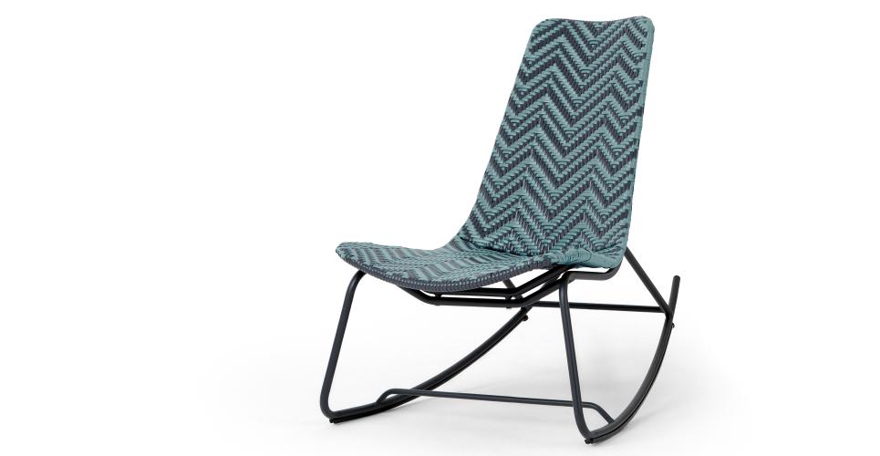 Maui outdoor rocker, cadillac blue   Garden Furniture   Pinterest