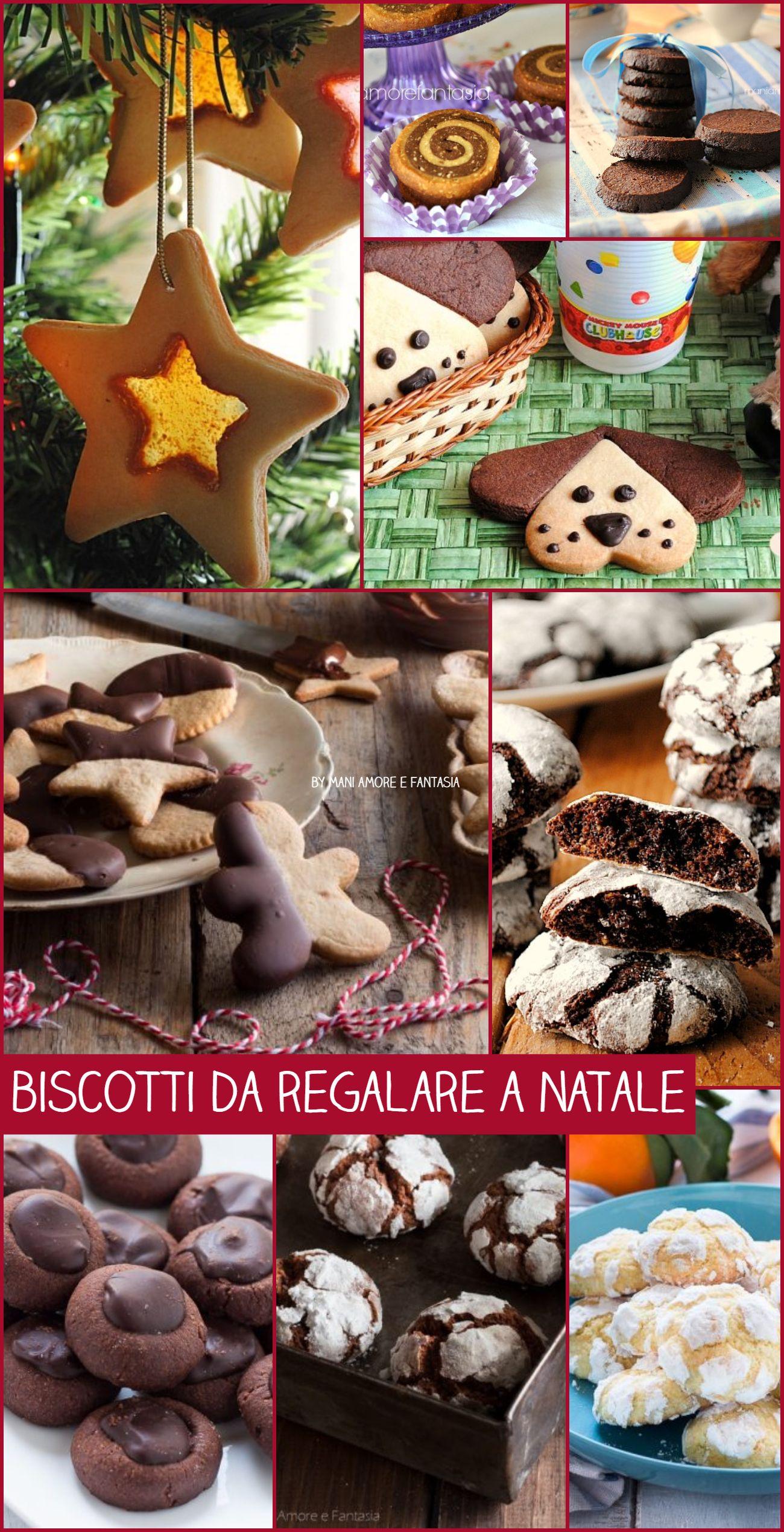 Ricette Di Biscotti Da Regalare A Natale.Biscotti Da Regalare A Natale Tutti Facili E Golosi Mani Amore E