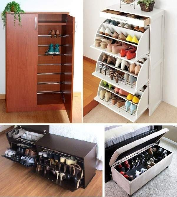 88 ideas para guardar zapatos stop desorden mueble for Mueble zapatero pequeno