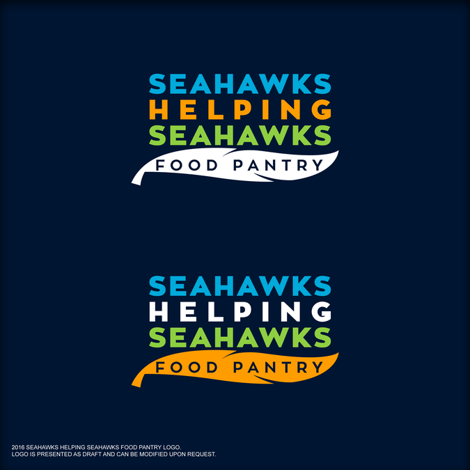 Seahawks Helping Seahawks Food Pantry by carlovillamin