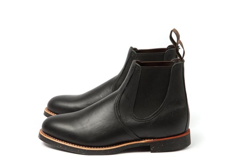 Red Wing Shoes 8200 - Chelsea Rancher Black Star - http://www ...