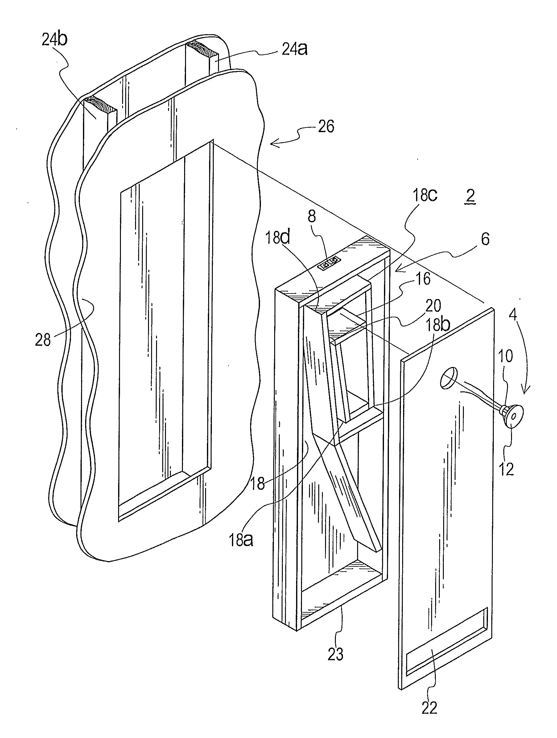 patent us20120061174 - acoustic system