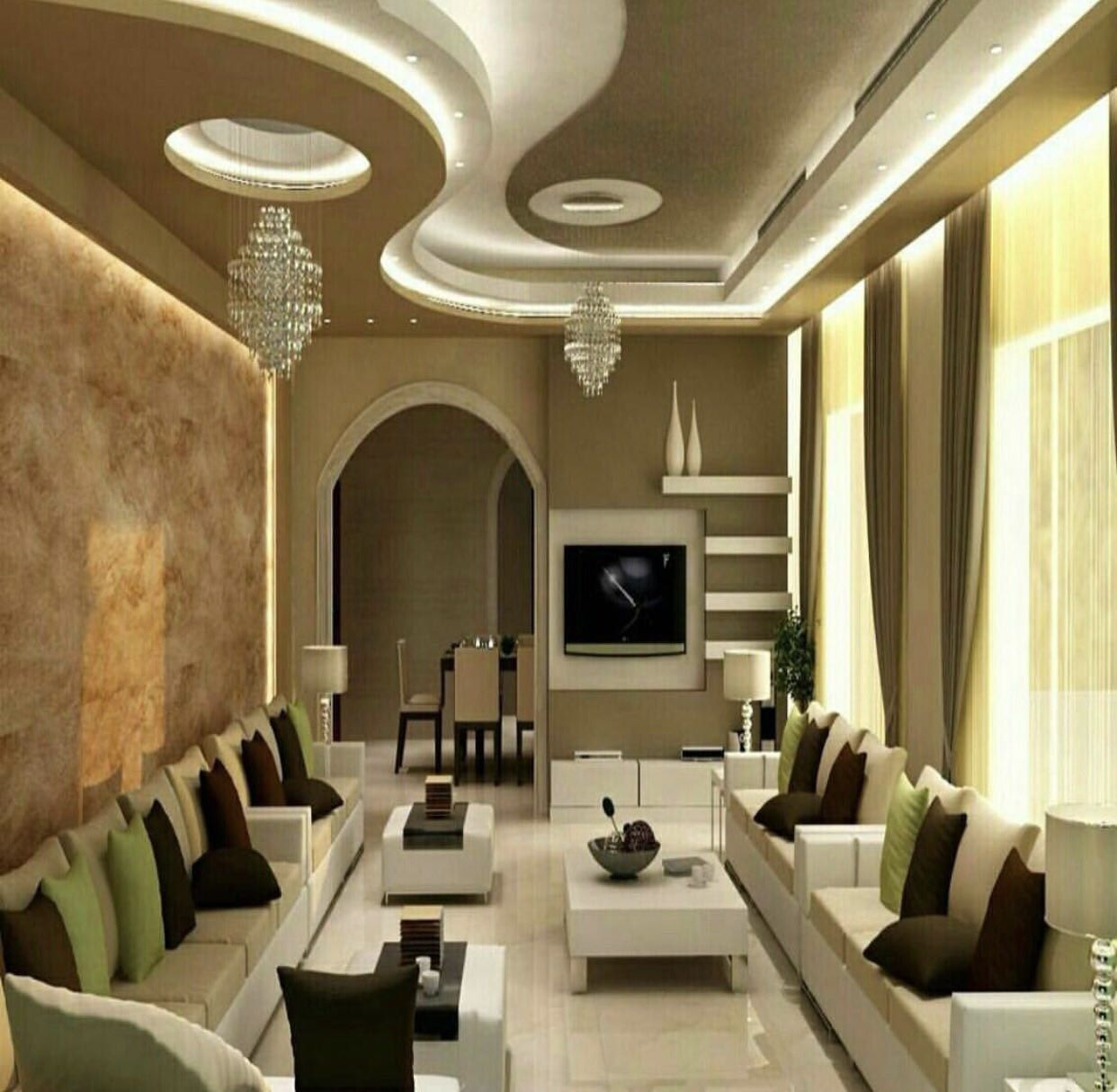 Pin By Suad Faraj On تصميم بيوت False Ceiling Design Ceiling Design Living Room False Ceiling Living Room