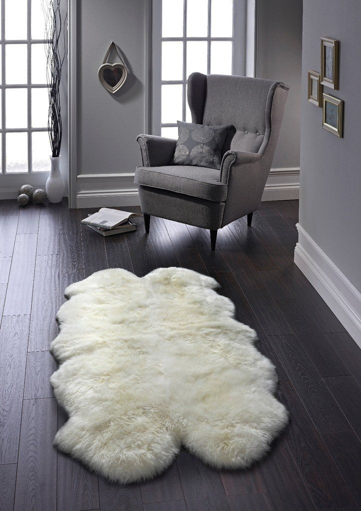 Luxurious Australian Wool Sheepskin Rug Quad Size 190x170cm Rox Cre Origins Collections