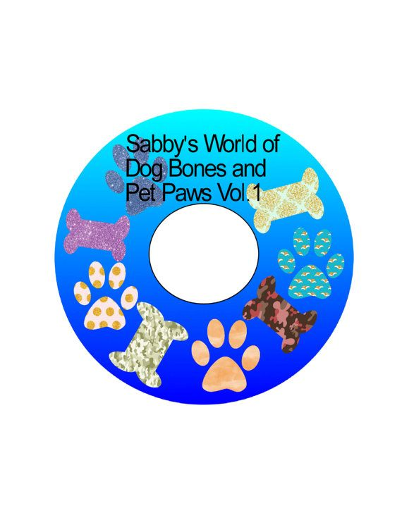 Sabby's Word of Dog Bones and Paws Digital 171 by SabbysPlace32