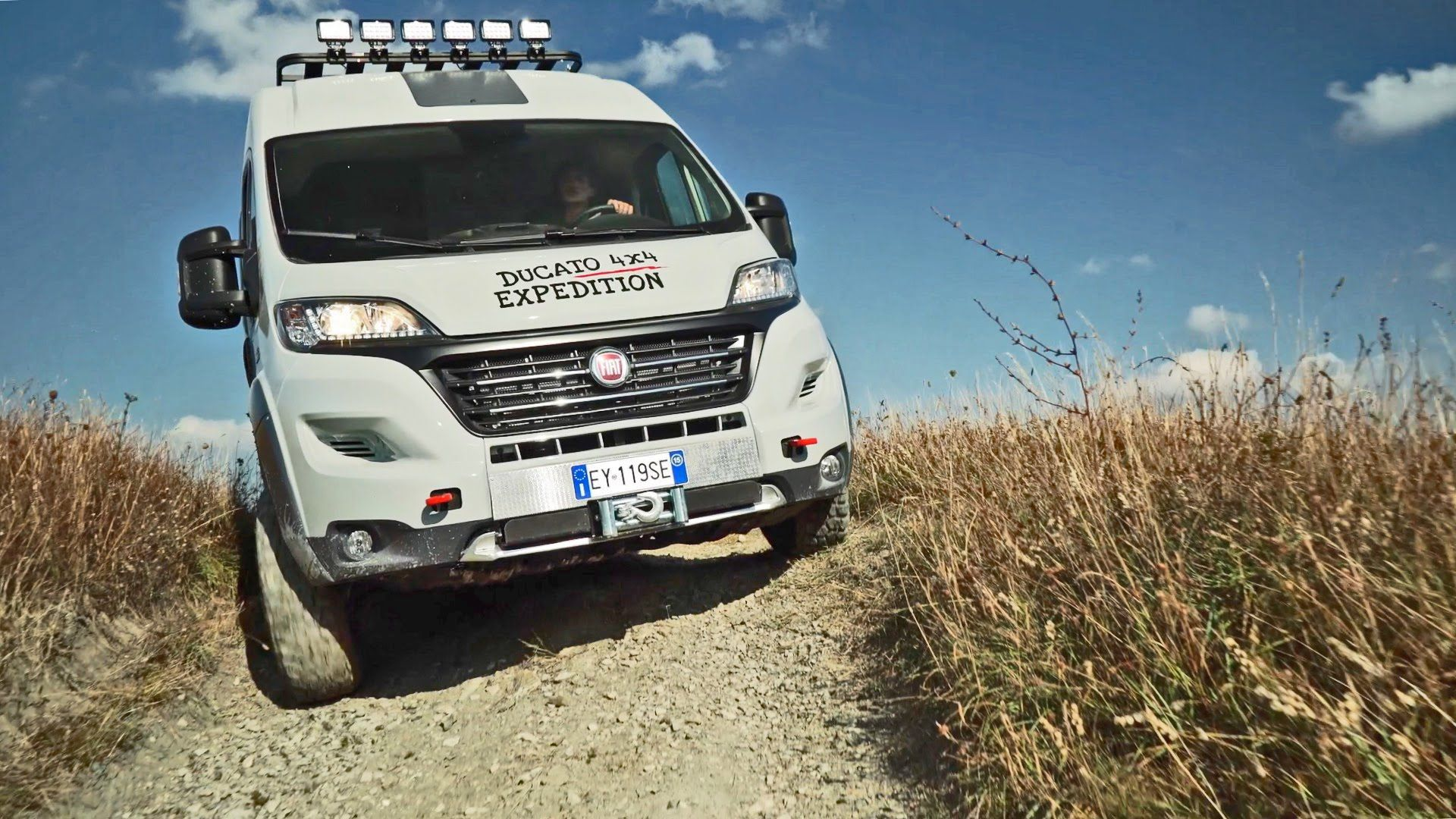 Fiat Ducato 4x4 Expedition Off Road Camper Van With Images