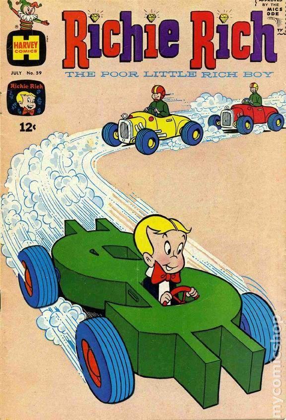 Richie Rich 1960 1st Series 59 Richie Rich Richie Rich Comics Retro Comic Richie rich cartoon hd wallpaper