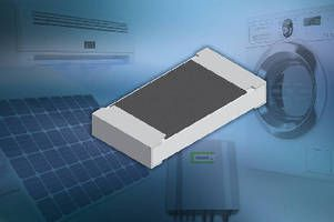 New Vishay Intertechnology Thick Film Chip Resistors Deliver High Voltages To 500 V In Compact 0805 And 1206 Case Sizes Resistors High Voltage Case