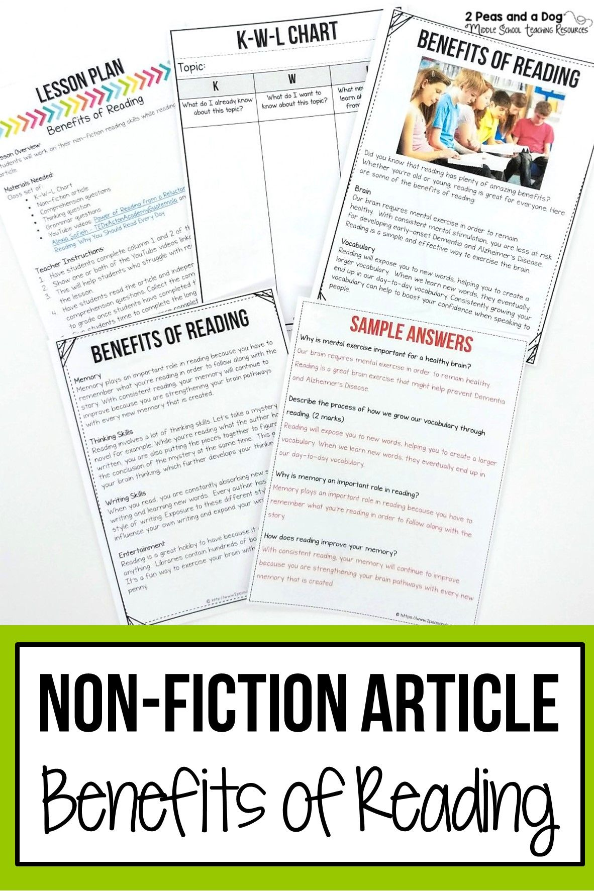 Benefits Of Reading Non Fiction Article In