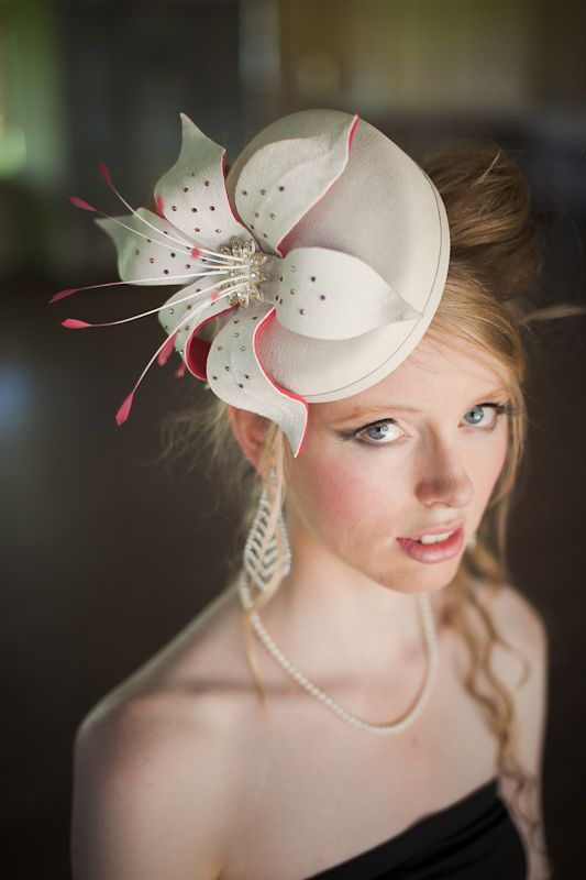 Millinery hand made by Julie using fine quality materials