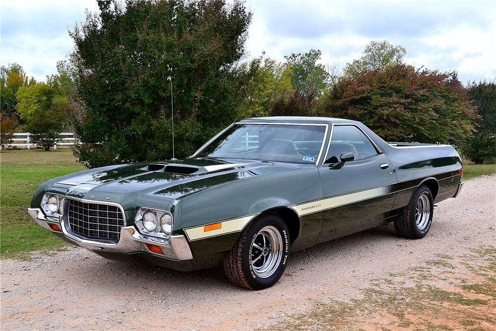 Fully Restored 1972 Ford Ranchero Gt Q Code Cobra Jet With A C6 Automatic Transmission Marti Report Docu