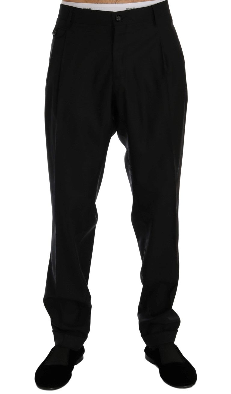 59151ce26b05cc Blue Wool Dress Formal Pants