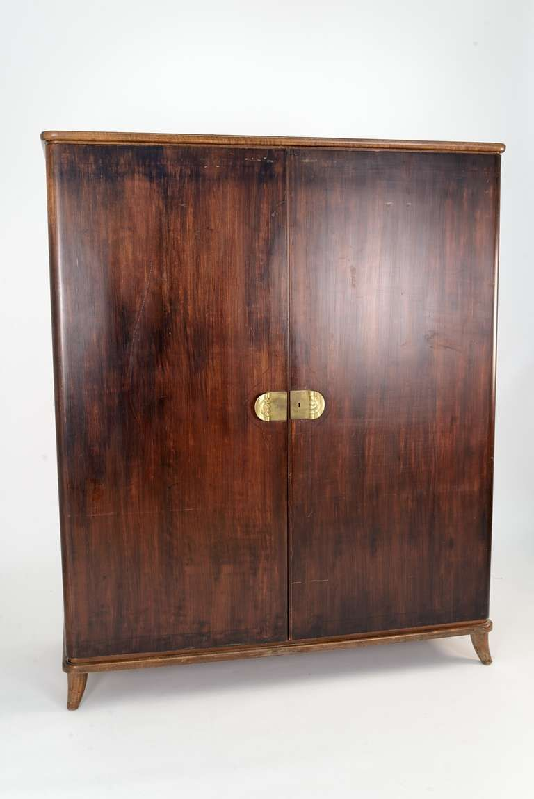 Extraordinary Italian 1940s Wardrobe | From A Unique Collection Of Antique  And Modern Wardrobes And Armoires
