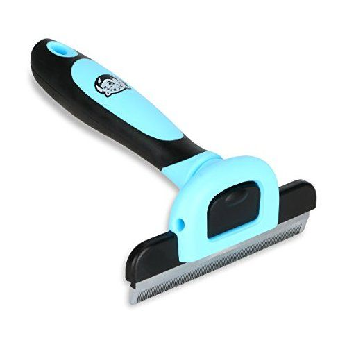 Grooming Brush And Deshedding Tool For Dog And Cat With