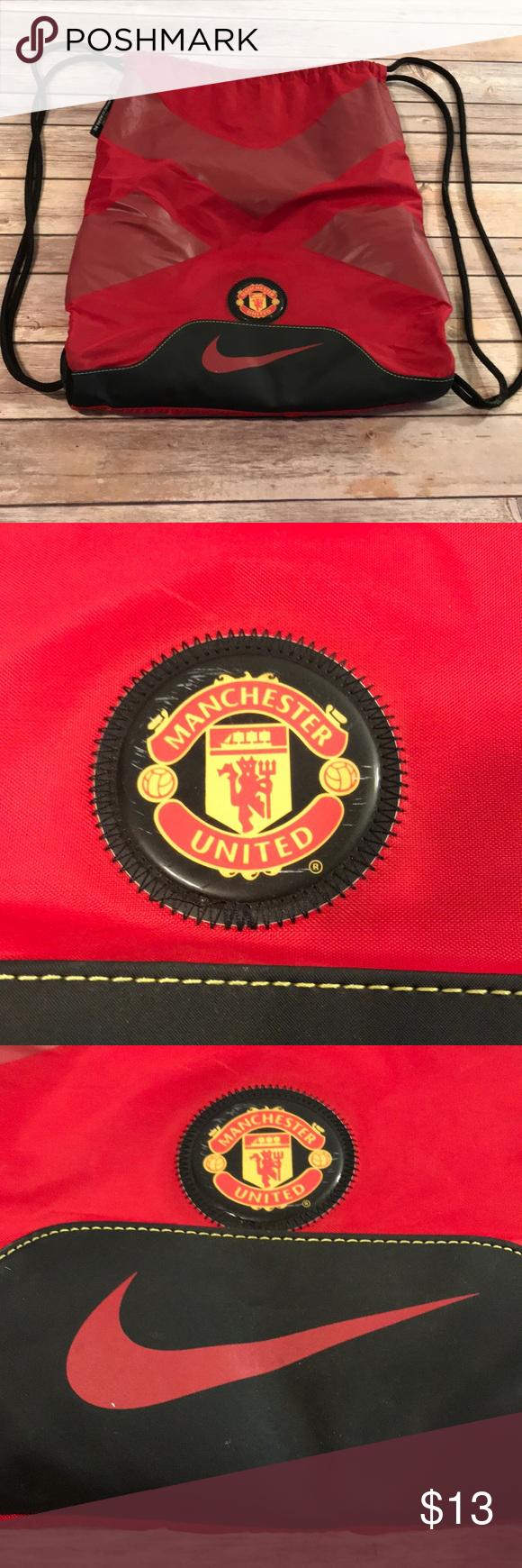 Nike Manchester United drawstring bag (With images) Nike