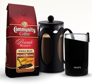 Community Coffee's Friday Funday Giveaway WIN a different prize weekly Ends 8/30 #fridayfunday