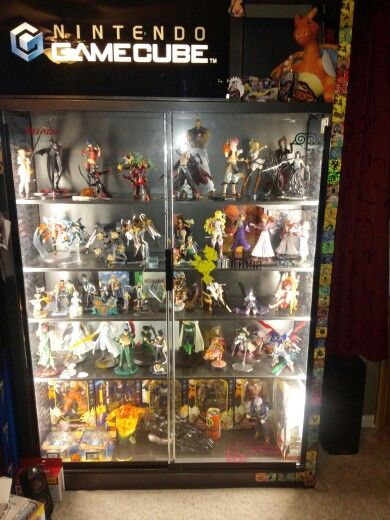 anime display case where the expensive the rare and the signed figures live anime makes. Black Bedroom Furniture Sets. Home Design Ideas