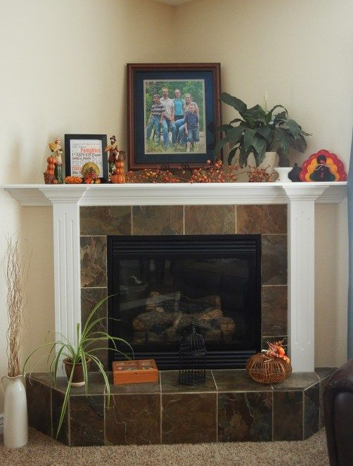 How to and How NOT to Decorate a Corner Fireplace Mantel Mantle